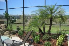 Landscape design installation irrigation mulch sod pavers DeLand Sanford Palm coast