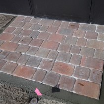Small paver patio Deland Sanford Palm Coast